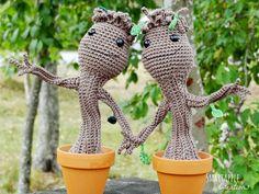 Smartapple Creations - amigurumi and crochet: Gratis Häkelanleitung in Deutsch - Baby Groot aus Guardians of the Galaxy