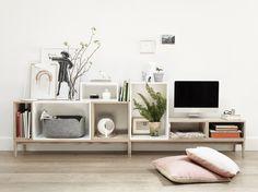 Mooi als tv meubel. Wil je meer tips voor je interieur, ga naar mixinstijl.nl