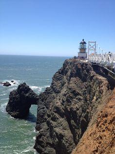 Point Bonita Lighthouse: http://redtri.com/san-francisco/explore-point-bonita-in-the-bay-area/