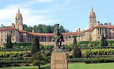 The Union Building in Pretoria, South Africa. The Union Building occupy the highest point in Pretoria. Pretoria, Visit South Africa, New Africa, Union Of South Africa, Apartheid Museum, Museum Guide, Day Tours, Barcelona Cathedral, Places To See