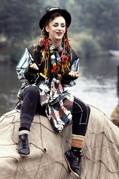 boy george 80s clothes - Google Search