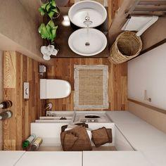 Minimalist Interior Design - Minimalist Home Decor - Minimalist House Design, Minimalist Home Decor, Minimalist Interior, Minimalist Living, Bathroom Design Small, Simple Bathroom, Modern Bathroom, Bathroom Designs, Home And Deco