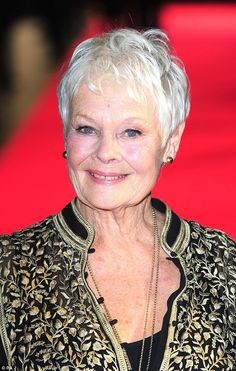 A gilded career that she's still adding to: Dame Judi Dench at 81 is still jet-setting the globe to make Hollywood blockbusters, and is currently working on Stephen Friars' directorial debut Victoria and Abdul
