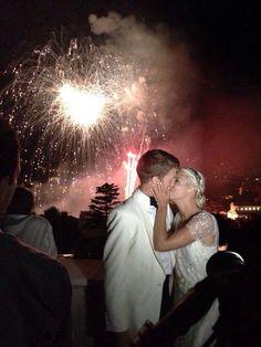 Fireworks - Jeff & Suzanne - 24th May 2014 - Ravello - Amalfi Coast - La Dolce Vita