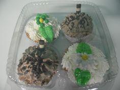 Temos cupcake à pronta entrega  Bandeja com 4 cupcakes por 12 REAIS
