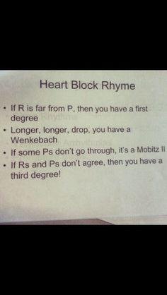 Heart Block Helpers  http://media-cache-cd0.pinimg.com/originals/13/cb/87/13cb8728fe1487a5d2a5ccad91658f75.jpg