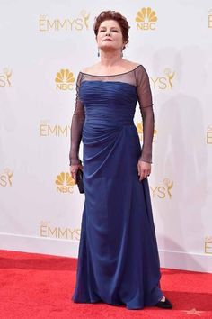 Kate Mulgrew at the 2014 Emmy Awards #fashion #OITNB #Emmys