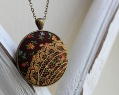Hey, I found this really awesome Etsy listing at https://www.etsy.com/listing/191900354/boho-hippie-jewelry-brown-mustard-yellowf