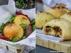 Variations Gourmandes: Boules de pizza à la Tomme de Savoie, viande séché...