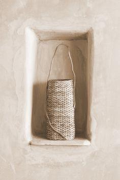 dream home + interior design inspiration + style + summer naturals + mood board + beige aesthetic + neutral colour palette Wabi Sabi, Vintage Sticker, Deco Nature, Tadelakt, Basket Weaving, Woven Baskets, Woven Bags, Knit Basket, Basket Bag