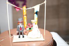 Novios del pastel personalizados para la boda de Laura&Julio *yodeBlancoytudeNegro*