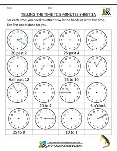 time-worksheet-telling-the-time-to-5-min-3a.gif (790×1022)