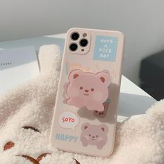 Tea Bear With Cheek Phone Cases bearwithholder-ip11promax