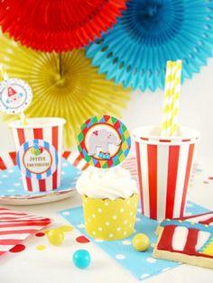Party Box Cirque - Kits de fête ou boîtes prêtes pour anniversaire ou sweet tables