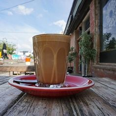 """""""Spending some time in my old neighbourhood, Braddon, one of Canberra's most quirky and interesting suburbs. First up a strong coffee from @lonsdalestreetroasters.""""Instagrammer @sophia_brady snapped this cool coffee shot in one of Canberra's vibrant foodie precincts.  #visitcanberra"""