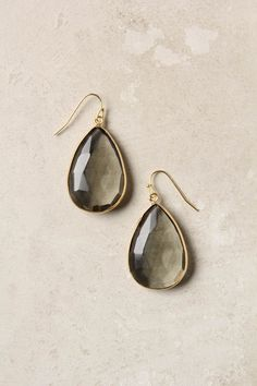 #engagementparty Anthropologie Gold Rung Earrings $34. The Quintessential Drop Earrings. Comes in 3 Colors. @Anthropologie .