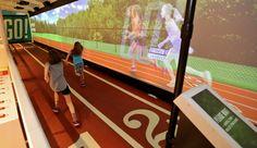SportsZone Exhibit | The Franklin Institute Science Museum