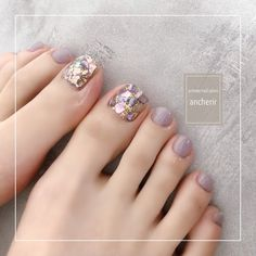 Acrylic Nails Coffin Short, Coffin Nails, Feet Nails, My Nails, Nail Polish Storage, Toe Nail Designs, Pedicure Nails, Beauty, Nail Ideas