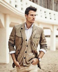 mensfashionworld: Forecast S/S 2014 Casual Office Wear, Men Casual, Trendy Mens Fashion, Fashion Poses, Men's Fashion, Mens Trends, Men's Wardrobe, Africa Fashion, Men Style Tips