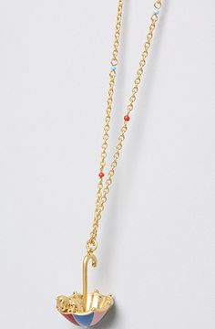 The Pooh Collection Umbrella Necklace by Disney Couture Jewelry - $40.00:  Good ol' Pooh!