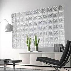 V4 : Brique de verre SDB / salon
