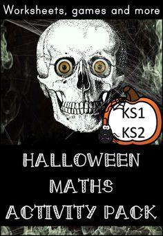 Halloween Maths Activity Pack for Upper and Halloween School Treats, Halloween Math, Point Words, Number Value, Fairy Halloween Costumes, Eyfs, Task Cards, Math Activities, Teaching Resources
