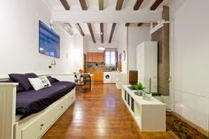 Amazing duplex in Barceloneta, close to the beach Barcelona Apartment, Old Fisherman, Extended Stay, Apartments, The Neighbourhood, Adventure, Beach, Amazing, Furniture
