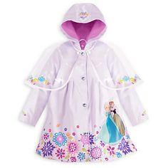 Anna and Elsa Rain Jacket for Girls Toddler Raincoat 91b86df4c4f44
