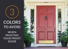 The front door makes a statement that sets the personality of the rest of the house. It is the second thing people notice, behind the front yard.  Whether you're looking to sell your home or you want to create a more welcoming entrance to your home,