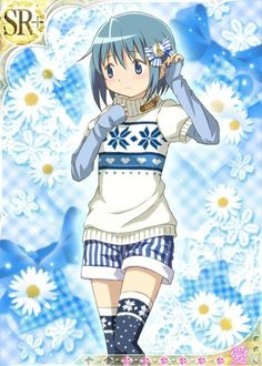 Valentine's Day has passed, now appreciate the magical moe of Madoka Magica's White Day character card art - among the cutest of any Madoka imagery, highly. Fairy Tail, Sayaka Miki, Madoka Magica Sayaka, Fanart, White Day, Cute Profile Pictures, Weird Creatures, Anime Outfits, Magical Girl