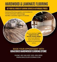 Hardwood flooring suppliers and installers in Toronto, Brampton, Mississauga, Hamilton, and other regions of Canada. PHONE: 416-540-8317, 905-458-8000 EMAIL: GRACIOUSHARDWOOD@YAHOO.COM Cheap Hardwood Floors, Laminate Flooring, The Tile Shop, Flooring Store, Baseboards, Floor Design, Decorating Your Home, Hamilton, Toronto