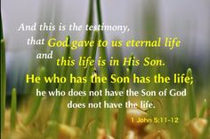 What is first is not taking Christ as our life but taking Christ as our person. If we take Christ as our person, we will surely take Him as our life and we will be able to grow and mature —1 John 5:11-12; Colossians 3:4, 2:19; Ephesians 4:13-16.