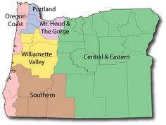 Oregon Campgrounds, Oregon Camping Locations