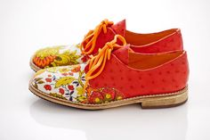 Dragon Flower Oxfords  Exclusively in US 8 size by Pleasemachine, €123.00