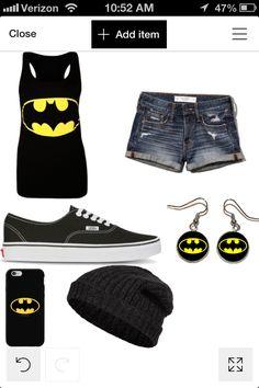 Ppl u love batman can wear this