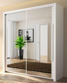 Modern Closet Doors, Armoire, Master Bedroom Closet, Closet Designs, Apartment Design, New Room, Home Projects, New Homes, Room Decor