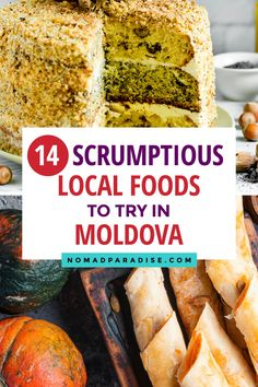 Moldovan Food - Best 14 Traditional Dishes as Recommended by a Local. Fancy Foods, European Cuisine, Mexican Food Recipes, Ethnic Recipes, Moldova, World Recipes, International Recipes, Foodie Travel, Street Food