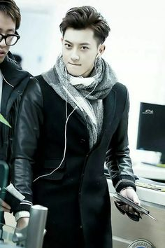 "Exo - Tao ""Tao + no makeup = perfect <3"""
