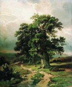 Дуб. 1865 Иван Шишкин