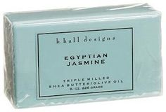 Egyptian Jasmine Triple Milled Shea Butter Soap by K. Hall Designs