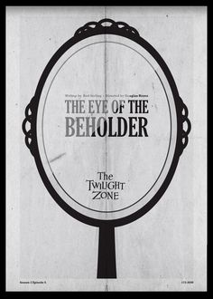 Eye of the Beholder - Twilight Zone Posters by Luke Vickers