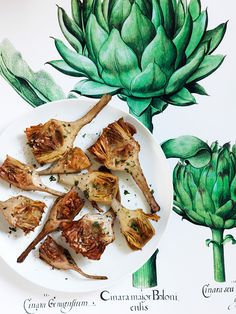 Fried Artichokes with Lemon and Parsley Recipe