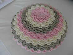Crocheted cushion for my granddaughter - Attic24 - By Sharon Blignaut
