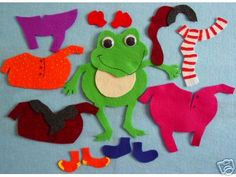 Froggy gets dressed fun packpdf repinned by www froggy gets dressed pronofoot35fo Images