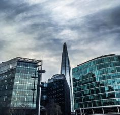 Whenever I visit London I have to take a photo of @theshardlondon  Each time I try to take it from a different angle.   This was taken the other day on my way to a Google event.