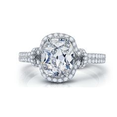 Brides: Oval Cut Engagement Rings | Engagement Rings | Brides.com | Wedding Engagement
