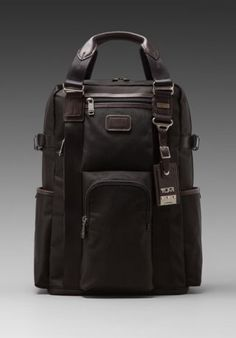 115e6d9cea95 Tumi Alpha Bravo Ballistic Nylon Lejeune Backpack Tote in Hickory Stylish  Backpacks
