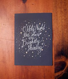 Oh Holy Night by thimble press