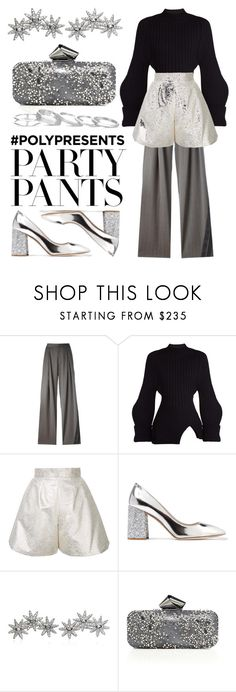 """""""#PolyPresents: Fancy Pants"""" by eva-jez ❤ liked on Polyvore featuring A.F. Vandevorst, Jacquemus, Bambah, Miu Miu, Apples & Figs, Jimmy Choo, Kendra Scott, contestentry and polyPresents"""