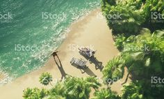 Paradise tropical island royalty-free stock photo